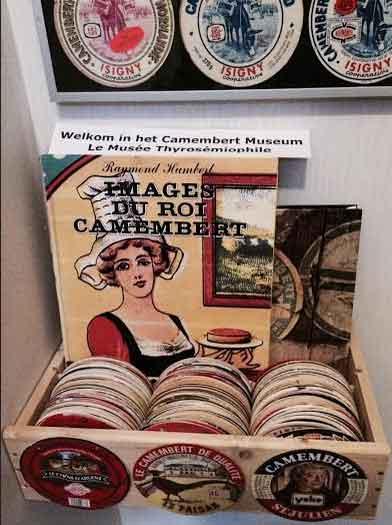 Camembert-museum